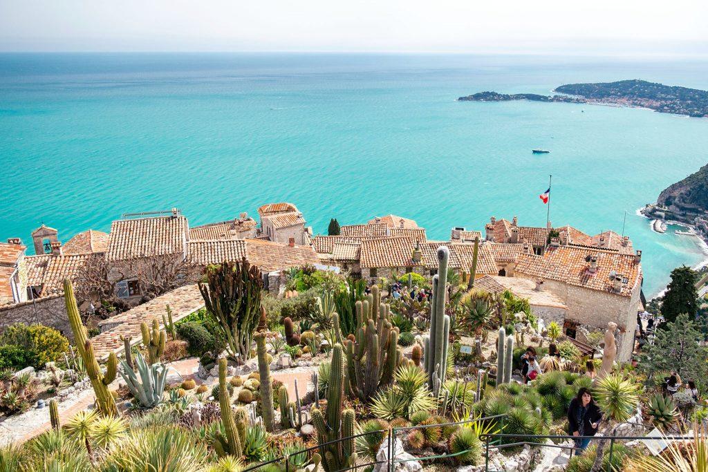 traumhafte Farben sind typisch für die Côte d'Azur