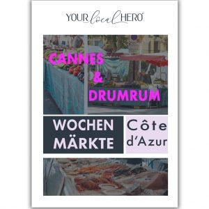 "Cover ""Wochenmärkte Côte d'Azur - Cannes"""
