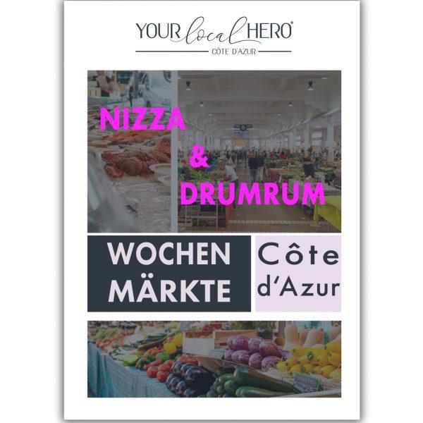 "Cover ""Wochenmärkte Côte d'Azur - Nizza"""