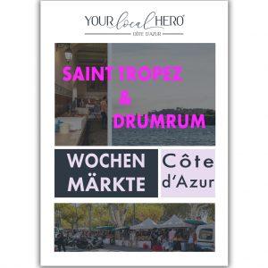 """Cover """"Wochenmärkte Côte d'Azur: Saint-Tropez"""""""