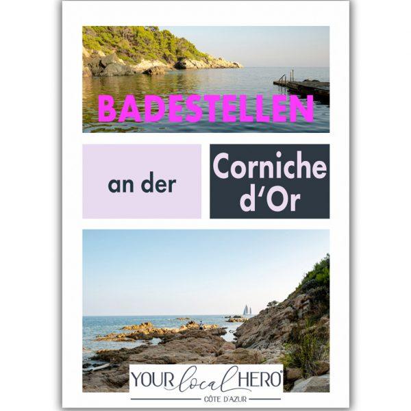 """Der Guide """"Badestellen and er Corniche d'Or"""""""